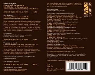 C 9814/16 BELLA IMAGINE (3 CDs x 2) [19,99 Euros]