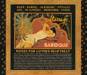 C 9502 MASSAGE BAROQUE MUSIC: MUSIC FOR LOVERS HEARTBEAT (only available as digital download or streaming)