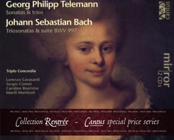 C 9701/2 G.P. TELEMANN/J.S. BACH (2 CDs) – COLLECTION RENTRÉE [9,99 Euros]