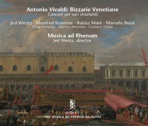 C 9505/6 VIVALDI: BIZZARIE VENETIANE (2CDs) [11,99 Euros]