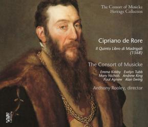 C 9402 CIPRIANO DE RORE: IL QUINTO LIBRO DI MADRIGALI, 1568 [9,99 Euros]