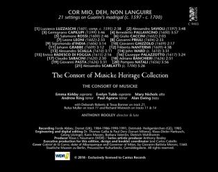 C 9403 COR MIO, DEH, NON LANGUIRE [9,99 Euros]