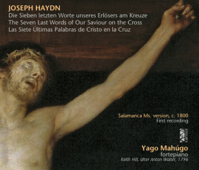 C 9629 JOSEPH HAYDN: THE SEVEN LAST WORDS OF OUR SAVIOUR ON THE CROSS (Salamanca Ms. version, c. 1800) [9,99 Euros]