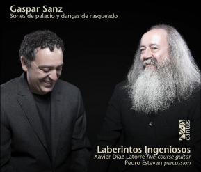 C 9630 GASPAR SANZ: COURT MUSIC AND STRUMMING DANCES [9,99 Euros]