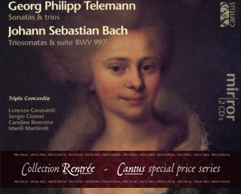 C 9701/2 G.P. TELEMANN/J.S. BACH (2 CDs) – COLLECTION RENTRÉE [9,99 Euros]