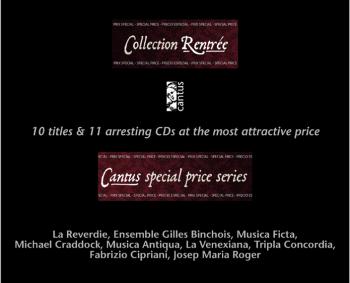 C 9908/18 CAJA ESPECIAL COLLECTION RENTRÉE (11 CDs x 69,97 Euros)